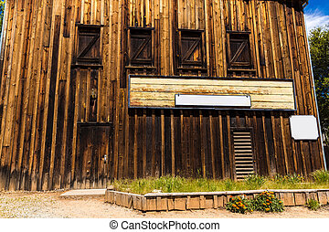 California Columbia a real old Western Gold Rush Town in USA