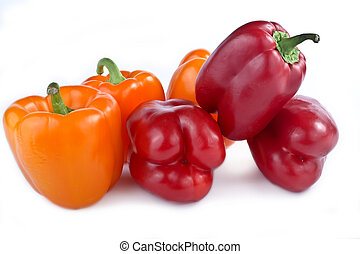 Capsicum annuum cultivars - The large juicy garden-stuffs of...