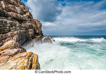 Cape of Good Hope - Wild Ocean at Cape of Good Hope