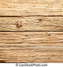 Old rough rustic wooden background texture with aged and...