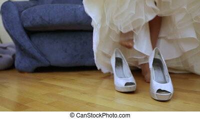 Lacing wedding shoes - Dress lace wedding shoes