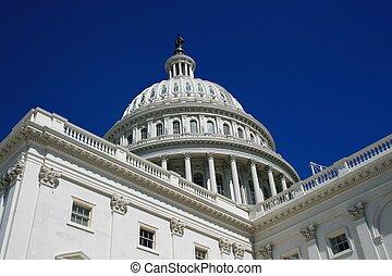 Capitol - Close up of US Capitol