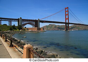 Golden Gate - Span of golden gate bridge