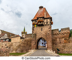 Witches Tower in Chatenois - Alsace, France