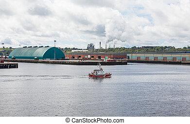 Canadian Coast Guard in Halifax Harbor - Canadian Coast...