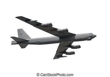 isolated military bomber