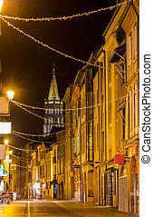 A street in Toulouse old city - France, Midi-Pyrenees