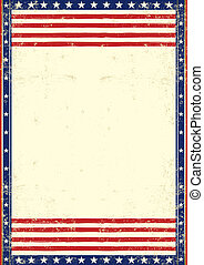 American dirty patriotic - An American vintage flag with a...