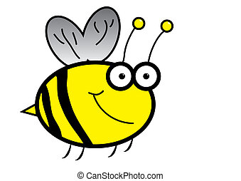 Cartoon Bumble Bee