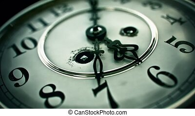 Clockface - 3D Animation - 3D Animation Of An Ancient...