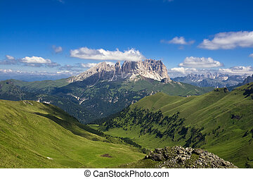 Dolomiti 2 - Summer portrait of Italian Dolomites in val di...