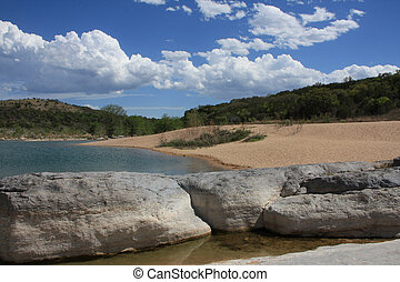 Texas Hill Country Landscape - Scenic landscape in Texas...