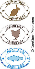 Animals-chiken- rabbit- fisch - animal, animals, calf,...