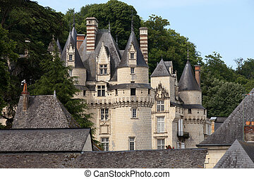 Castle of Rigny-Usse Known as the Sleeping Beauty Castle and...