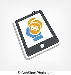 Money on device
