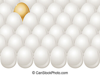 EGGS AND GOLD EGG