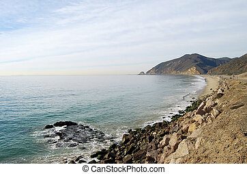 Distant Mugu - Views along the Pacific Coast Highway north...