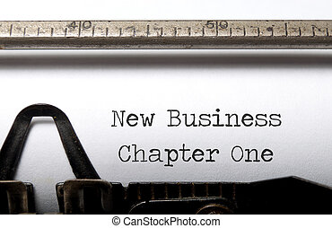 New business  - Building a new business concept