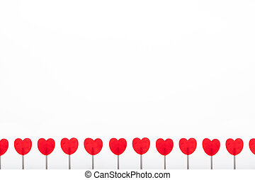 Red Lolly Pop Border - red lolly pops border or background
