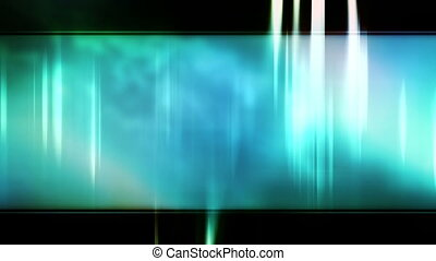 Soft flowing blue template looping animated background