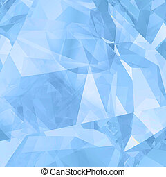 Abstract ice geometric background - Abstract ice creative...