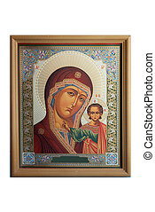 """jesus and mary icon - of """"Religious Icons"""""""