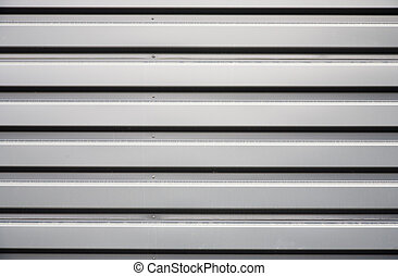 Aluminum background - Close up image of an aluminum...
