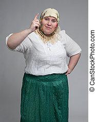 mujer, grasa
