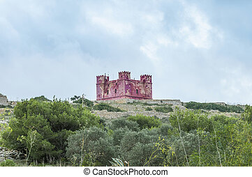 St. Agatha's Tower in Malta - St. Agatha's Tower or Red...