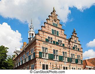 Naarden city hall - Medieval city hall in Naarden, the...
