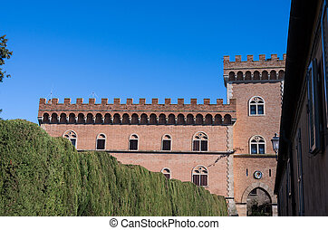 Bolgheri castle - The old town of Bolgheri and his castle,...