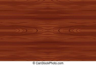 Seamless, madera, patrón