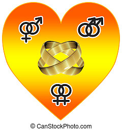 Universal Love - Symbol for more tolerance regarding sexual...
