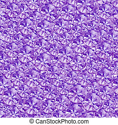 Abstract violet crystal geometric background