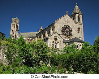 Cathedral Limoges - Limoges City, Southwest of France,...