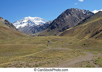 Aconcagua, Andes Mountains, Argentina - Aconcagua National...