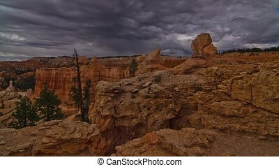 Bryce Canyon Nationalpark Timelapse - Time lapse shot at 6am...