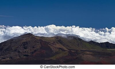Haleakala Clouds, Timelapse, Maui - Shot on Haleakala...