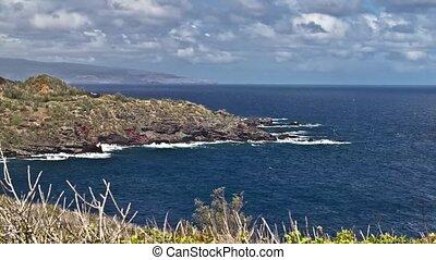 Kahakuloa Bay, Timelapse Maui Hawai