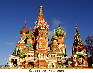 Cathedral of Vasily the Blessed, Moscow, Russia - Cathedral...