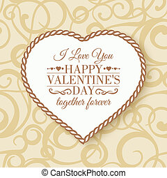 Happy Valentine's Day - card.