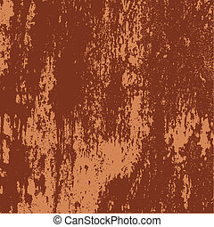 Rusty grunge metal texture - Vector detail of a rusty grunge...