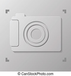 digital camera - illustration with digital camera for your...