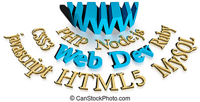 Webdev software tools for website development - WWW site...