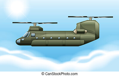 Chopper -  Illustration of a chopper