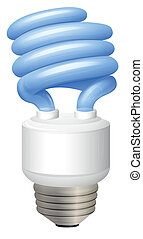 Electric Bulb - Illustration of an electric bulb