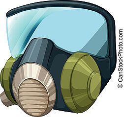 Self-contained breathing apparatus - Illustration of a...