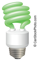 Light Bulb - Illustration showing the light bulb
