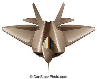 A fighter aircraft