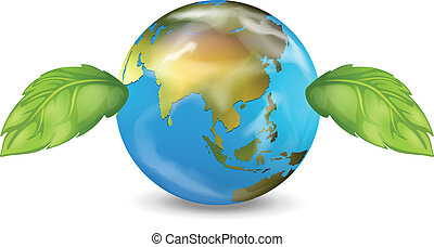 Planet Earth - Illustration of the planet earth